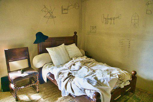 Bed, Newton, Issac, Science, Mathematics, Home, Physics