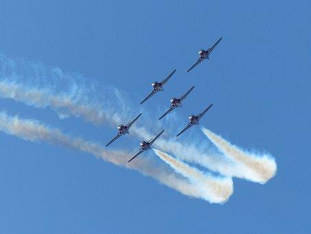 Snowbirds, Formation, Aerobatic, Canada, Practice