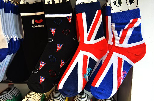 England, United Kingdom, Brexit, Socks, English