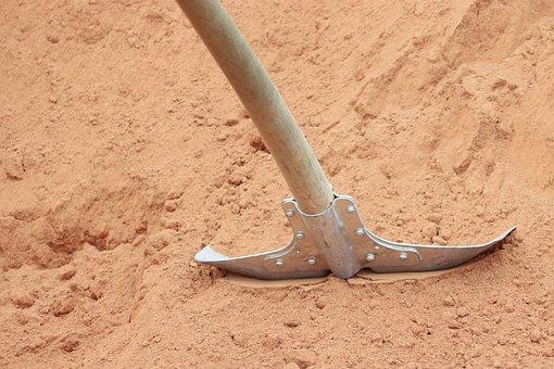 Blade, Sand, Break, Tool, Spade