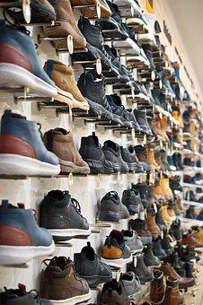 Shoes, Sports, Colors, Place, The Shelves, Ordered