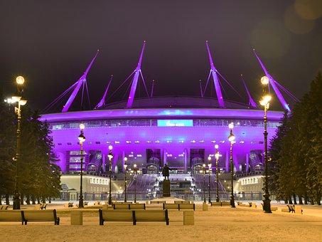 Spb, Stadium, St Petersburg Russia