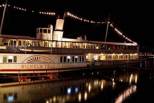 Ship, Steamboat, Water, Steamer, Paddle Steamer