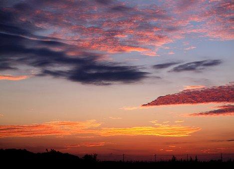 Natural, Sky, Cloud, Before Sunrise, Sunset
