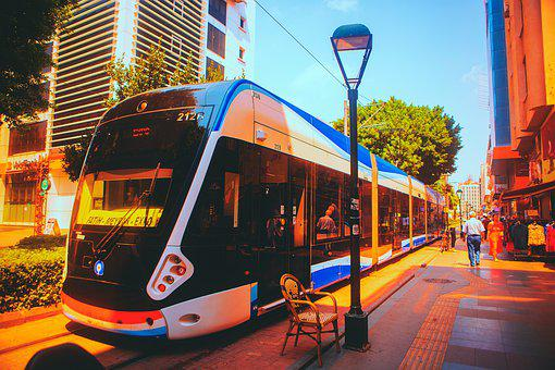Tram, Antalya, Turkey, Great, Travel