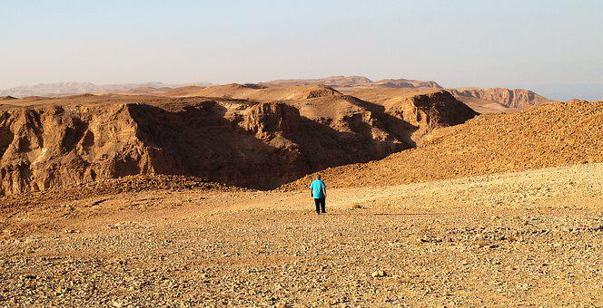 Loneliness, Desert, Judean Desert, Tze Elim Wadi