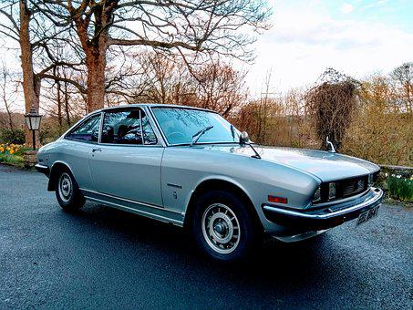 Classic-car, Isuzu, 117coupe, Car, Vintage