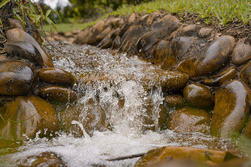 Waterfall, Rio, Stones, Outdoor, Cascade