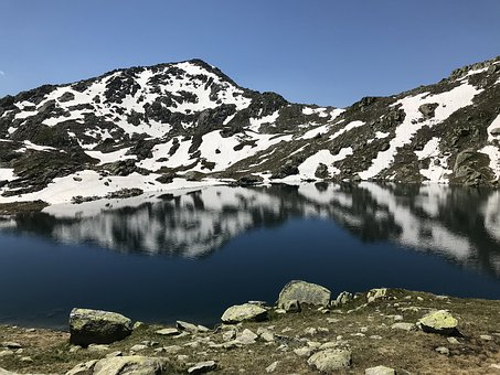 Lake Of Orsirora, Alpine Route, Alps