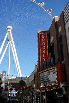 High Roller, Las Vegas, Wheel, Attraction, Sky, Linq