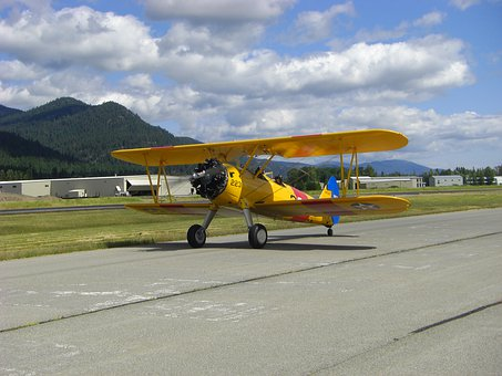 Tigermoth, Airplane, Aircraft, Plane, Aviation