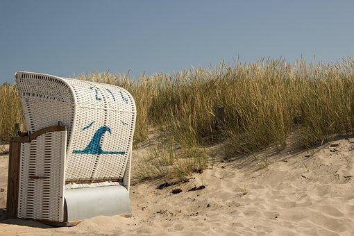 Beach Chair, Beach, Baltic Sea, Vacations, Summer, Sea