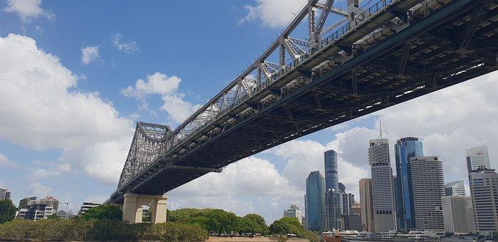 Brisbane, Brisbane River, Storey Bridge, Landmark