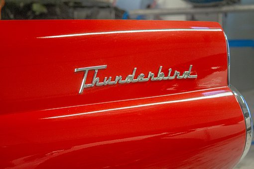 Thunderbird, Ford, Oldtimer, Convertible, Auto, Car