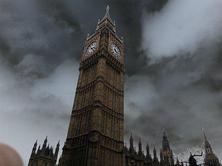 Big Ben, England, Landmark, Tower, Uk, Cityscape