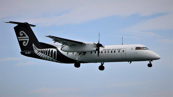 Air New Zealand, De Havilland Canada, Dhc, Dash 8