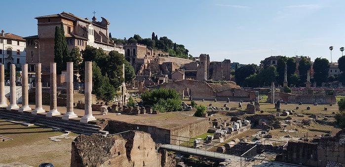 Rome, Forum, Palatino, Palatine Hill, Foro, Roma, Italy