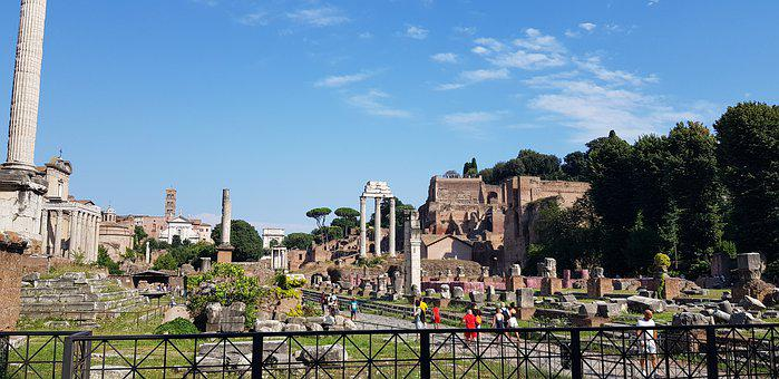 Rome, Roman Forum, Foro, Palatine Hill, Palatino, Italy