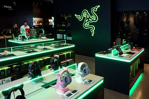 Razer, Gaming, Gamer, Headphones, Technology, Computer