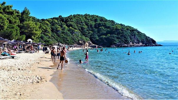 Skiathos, Greece, Island, Sea, Holidays
