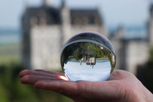 Kristin, Castle, Bavaria, Germany, Glass Ball