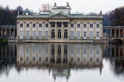 Landscape, Lake, Building, Historical, Museum