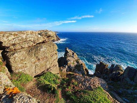 Just A Beautiful Day, Ocean, Landscape, Sea, Nature