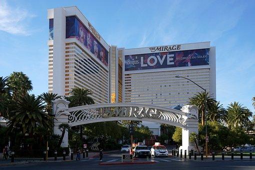 Casino, Las Vegas, Strip, Mirage, Blue Casino