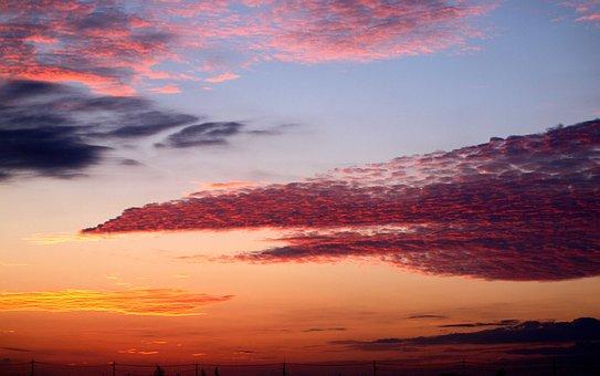 Natural, Landscape, Before Sunrise, Sunset