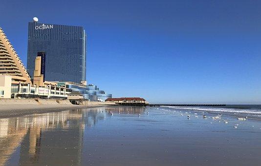Atlantic City, Jersey Shore, New Jersey, Shore, Ocean