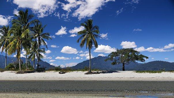 Thailand, Island, Boulders, Sea, Ocean