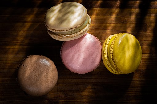 Macaron, Sweet, Dessert, Pastry, Delicious, French