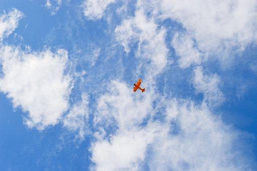Biplane, Airplane, Plane, Aviation, Aircraft, Propeller