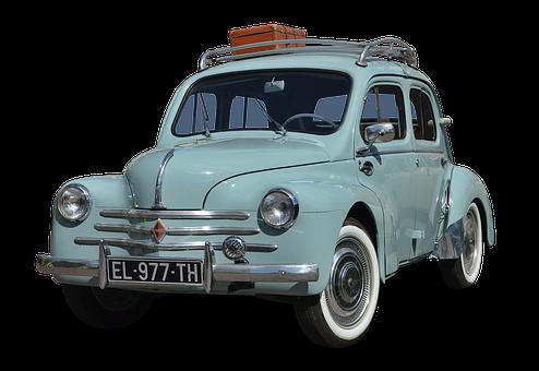 Renault, 4Cv, Auto, Automotive, Vehicle