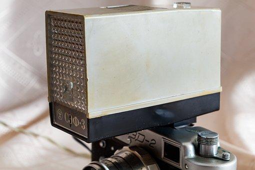 Flash, Retro, Camera, Lens, On-camera Flash, Gate