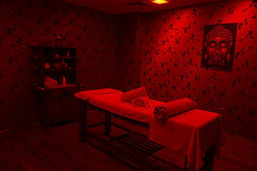Massage, Room, Red, Bed, Romantic, Health, Spa