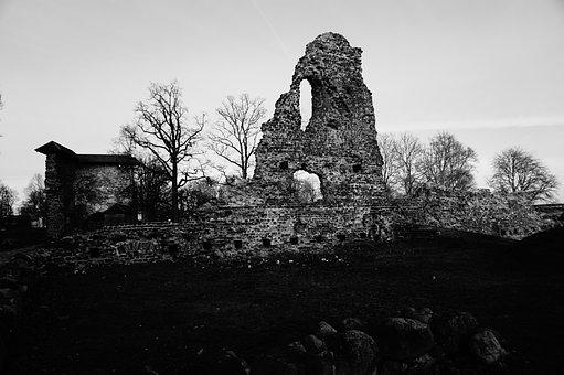 Castle, Ruins Of The Castle, Old, Ruin, Architecture