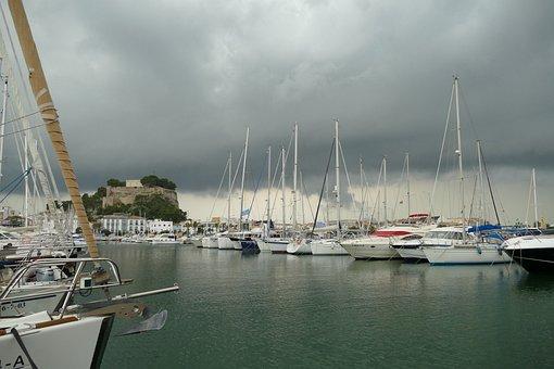 Port, Boat, Ship, Water, Sailing Boat