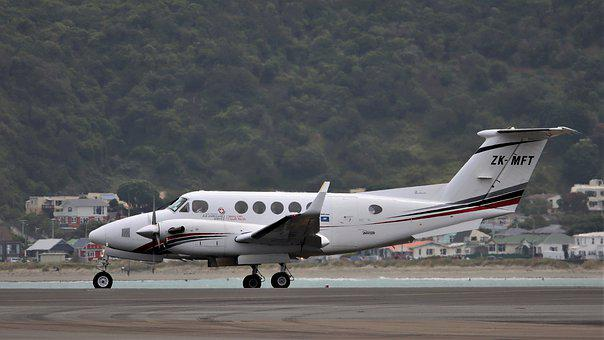 Air Ambulance, Saving Lives, Zk-mft, Beech B200