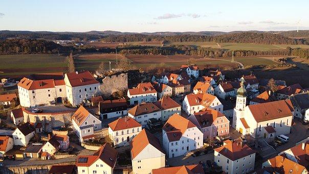 Lupburg, Bavaria, Upper Palatinate, Sky