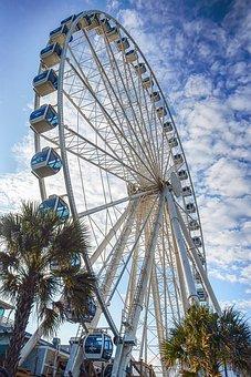 Ferris Wheel, Ferris, Wheel, Sky Wheel