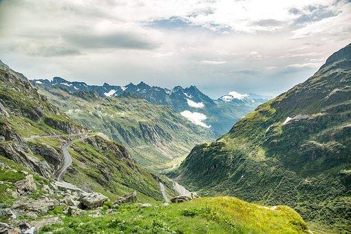 The Alps, Switzerland, Mountains, Landscape, Alpine