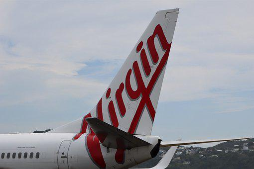 Virgin Australia, Decals, Air, Brand, Red, Tail, Wing