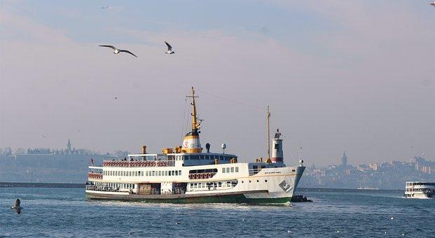 V, Istanbul, Turkey, Ship, Travel
