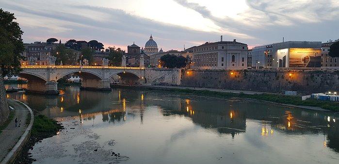 Ponte Vittorio Emanuele Ii, Vatican City, Rome, Italy