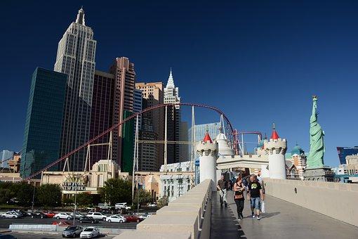 Las Vegas, Vegas, Strip, Nevada, Usa, Hotel, Gambling