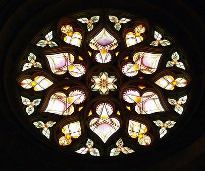 Window, Stained Glass, Brandschildering