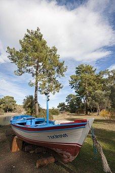Boat, Wood, Nature, Shovel, Lake, Adventure