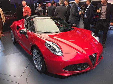 Alfa Romeo, 4c, Sportscar, Carboxylic