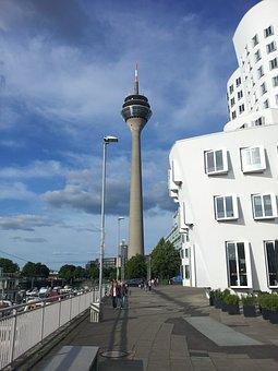 Düsseldorf, Architecture, Building, City, Structures